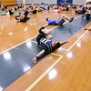 1-46 Infantry Regiment brings fitnees to Midland Middle School