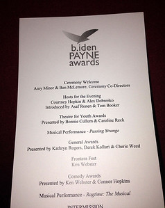 B. Iden Payne Awards Ceremony - November 5, 2013