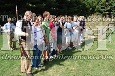 BPC Social Studies Class Shoots Civil War Rifle 10-02-06 009