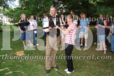 BPC Social Studies Class Shoots Civil War Rifle 10-02-06 011