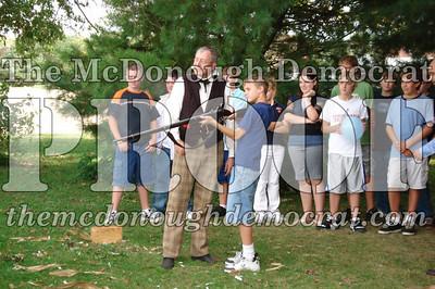 BPC Social Studies Class Shoots Civil War Rifle 10-02-06 012
