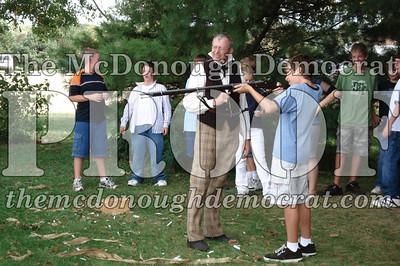 BPC Social Studies Class Shoots Civil War Rifle 10-02-06 019