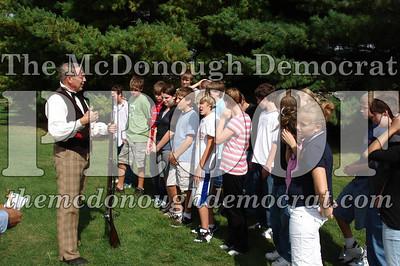 BPC Social Studies Class Shoots Civil War Rifle 10-02-06 008