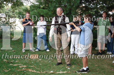 BPC Social Studies Class Shoots Civil War Rifle 10-02-06 024