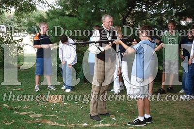 BPC Social Studies Class Shoots Civil War Rifle 10-02-06 021