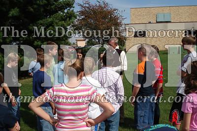 BPC Social Studies Class Shoots Civil War Rifle 10-02-06 003