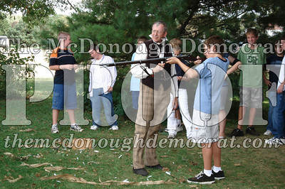 BPC Social Studies Class Shoots Civil War Rifle 10-02-06 020