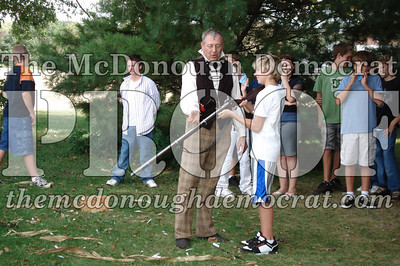 BPC Social Studies Class Shoots Civil War Rifle 10-02-06 015