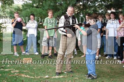 BPC Social Studies Class Shoots Civil War Rifle 10-02-06 025