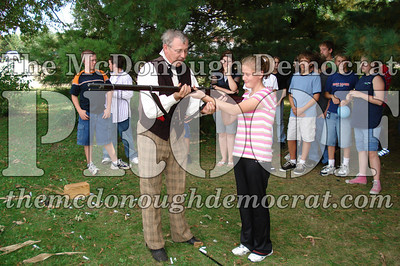 BPC Social Studies Class Shoots Civil War Rifle 10-02-06 010