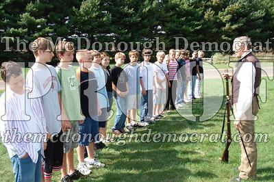 BPC Social Studies Class Shoots Civil War Rifle 10-02-06 004