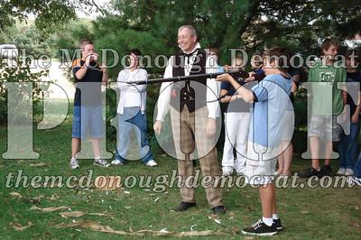 BPC Social Studies Class Shoots Civil War Rifle 10-02-06 022