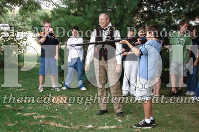 BPC Social Studies Class Shoots Civil War Rifle 10-02-06 023