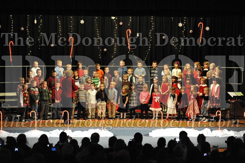 Elem K & 1st gr Christmas Choral Concert 002