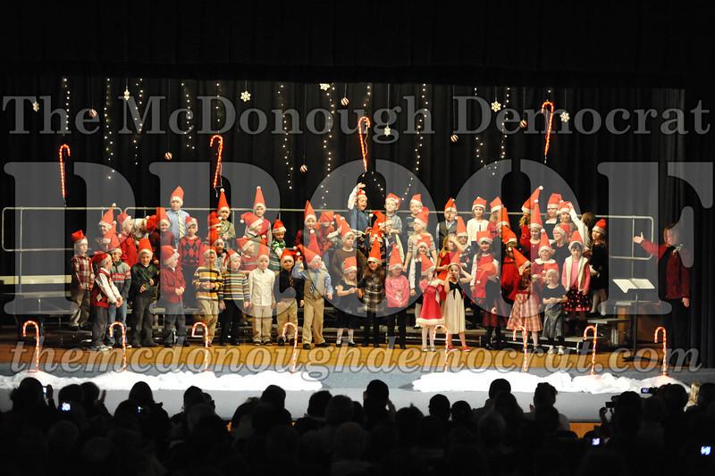 Elem K & 1st gr Christmas Choral Concert 038