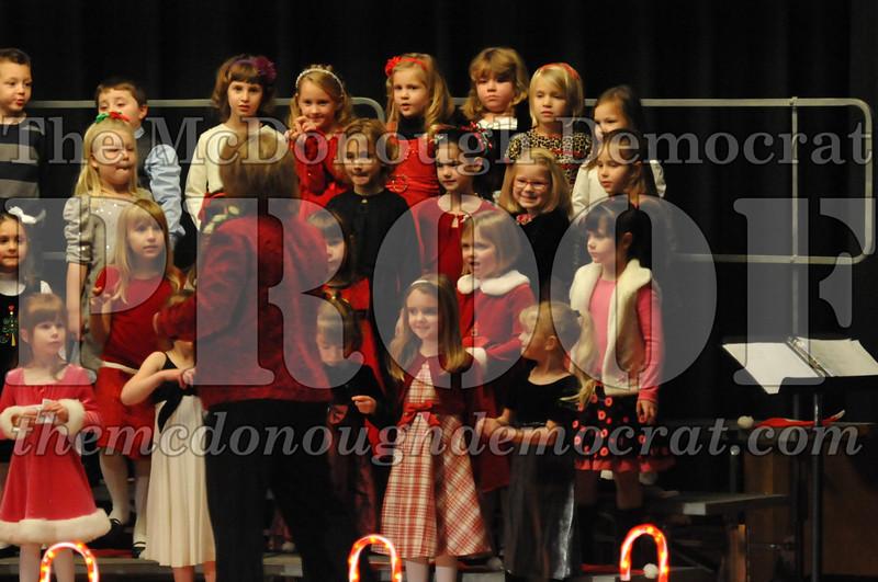 Elem K & 1st gr Christmas Choral Concert 009