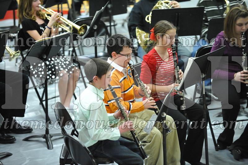 BPC JH-HS Band Christmas Program 12-19-10 042