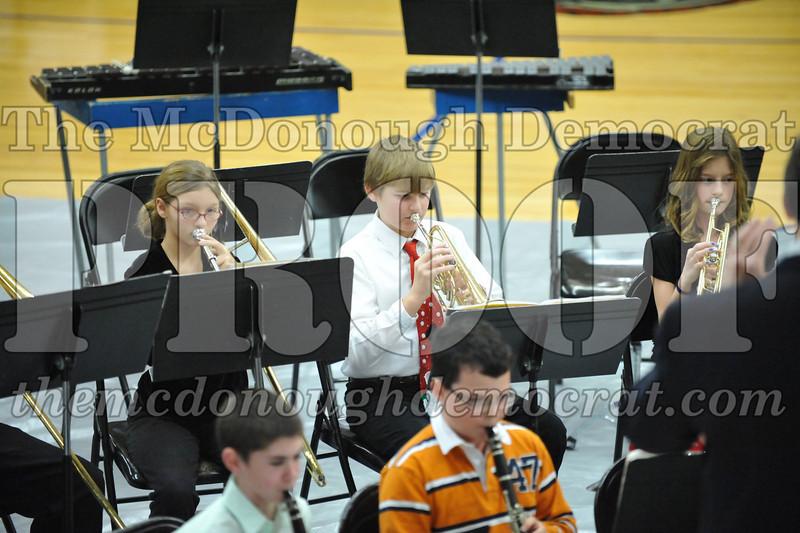 BPC JH-HS Band Christmas Program 12-19-10 016