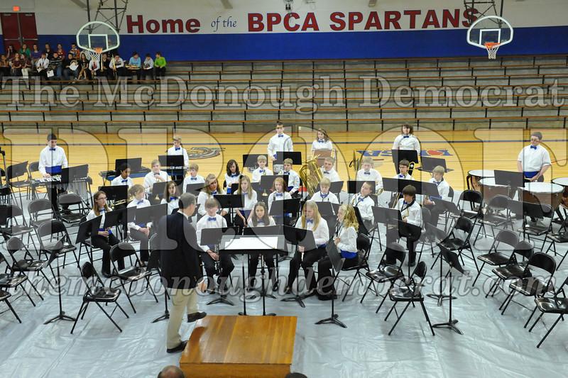 BPC JH-HS Band Christmas Program 12-19-10 055