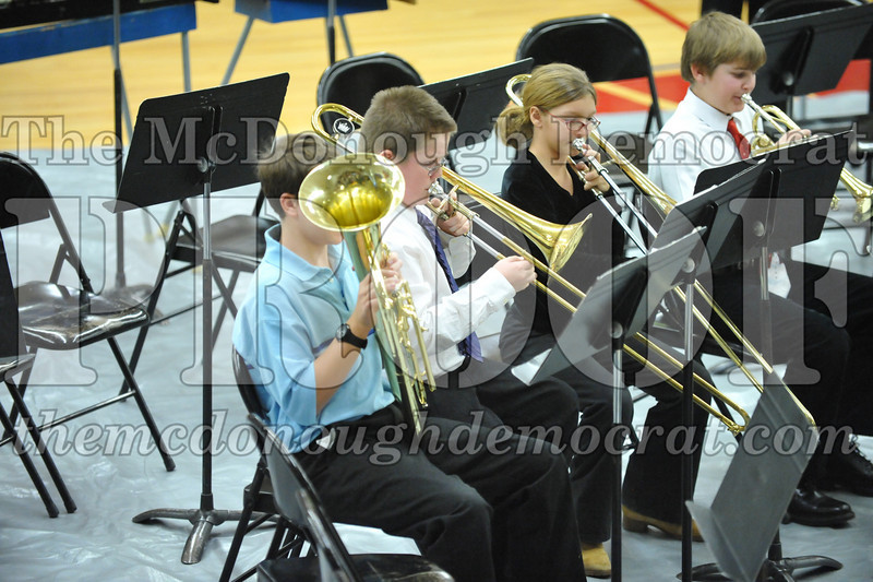 BPC JH-HS Band Christmas Program 12-19-10 046