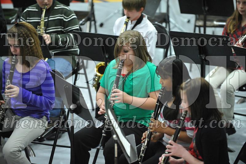 BPC JH-HS Band Christmas Program 12-19-10 030