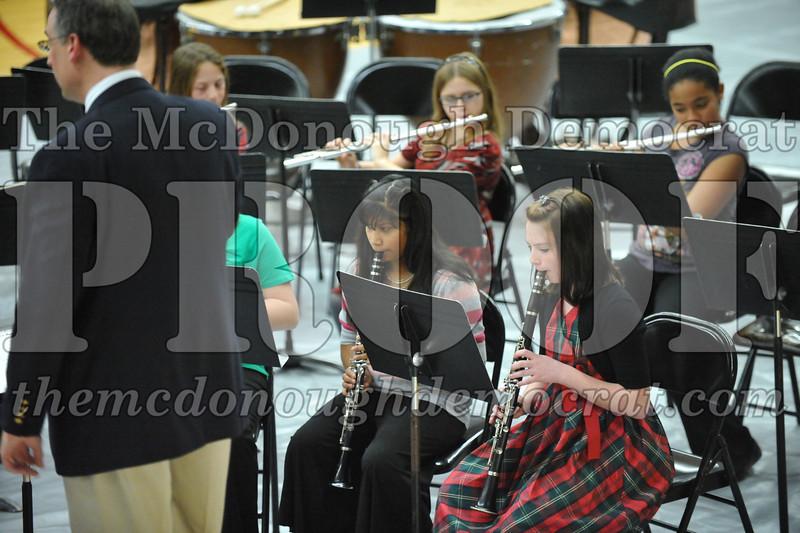 BPC JH-HS Band Christmas Program 12-19-10 044