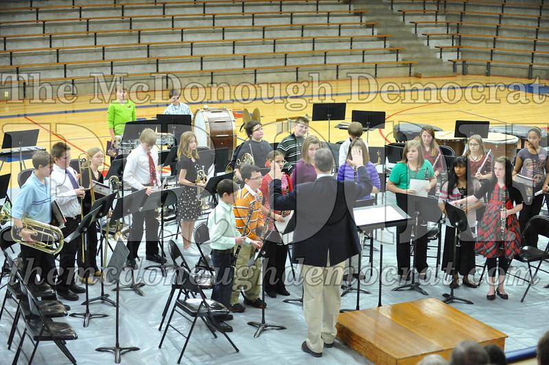 BPC JH-HS Band Christmas Program 12-19-10 051