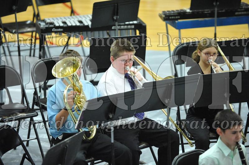 BPC JH-HS Band Christmas Program 12-19-10 014