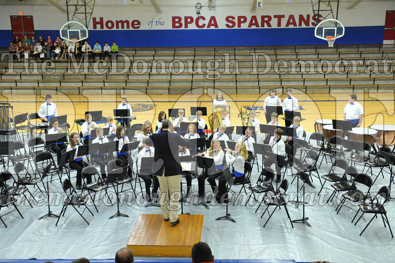 BPC JH-HS Band Christmas Program 12-19-10 053