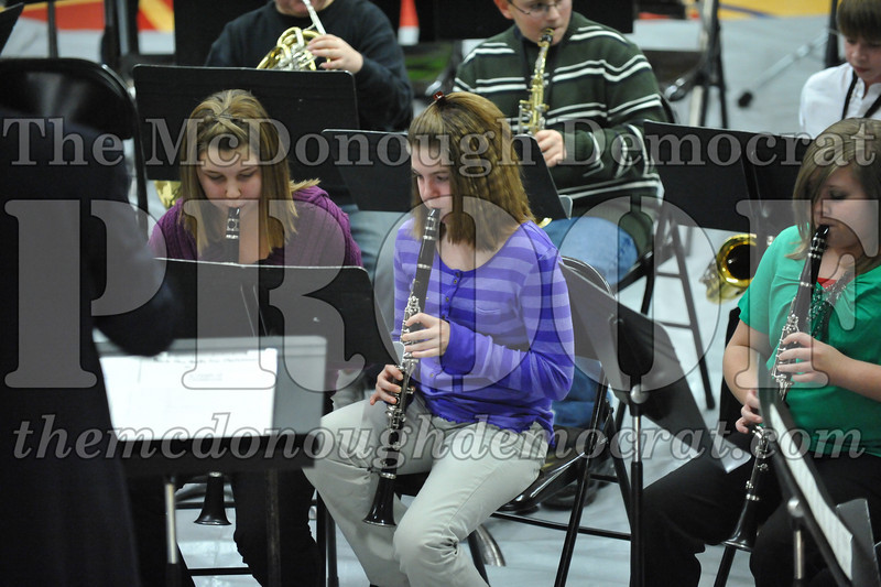 BPC JH-HS Band Christmas Program 12-19-10 029
