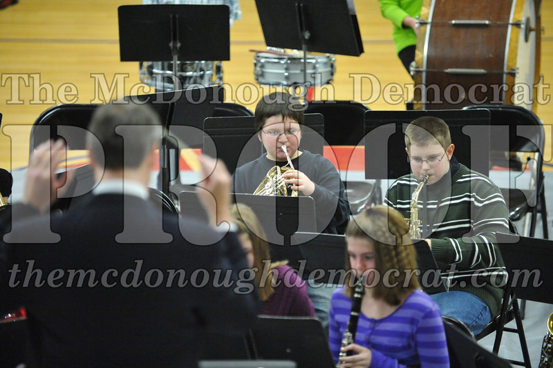 BPC JH-HS Band Christmas Program 12-19-10 018