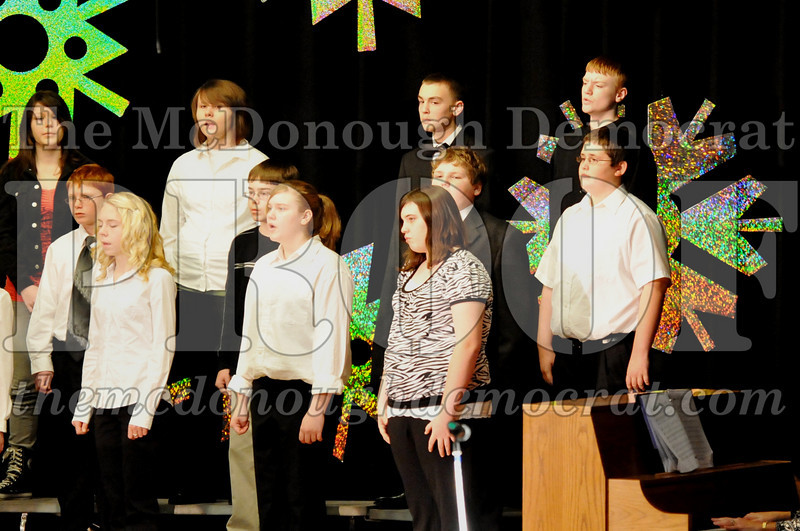 BPC JH-HS Christmas Choral Program 12-19-10 043