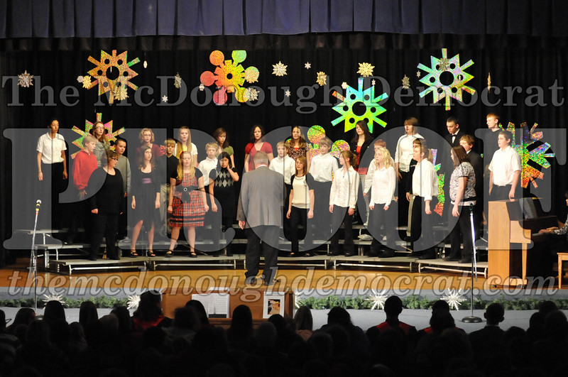BPC JH-HS Christmas Choral Program 12-19-10 055