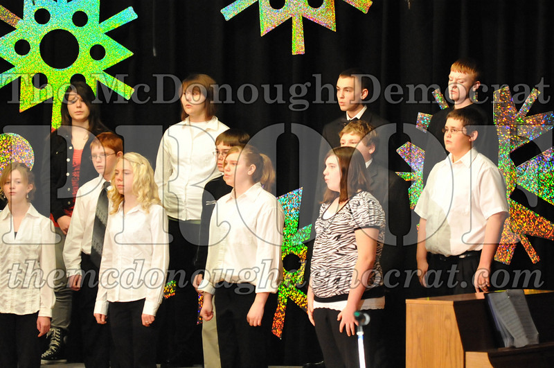 BPC JH-HS Christmas Choral Program 12-19-10 044