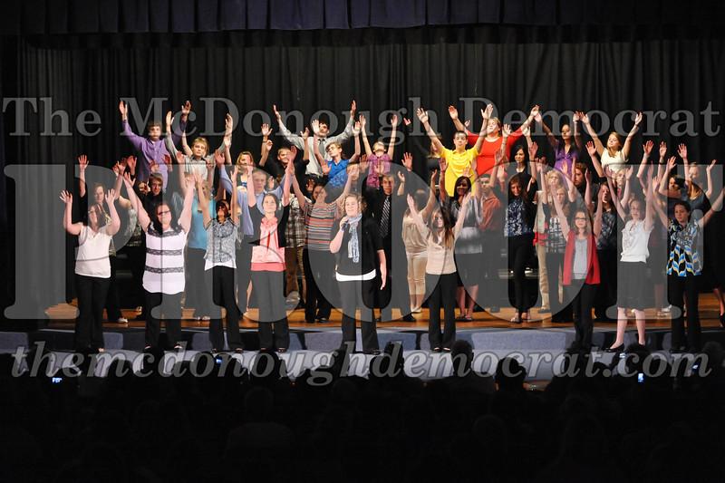 HS Chorus Variety Show Presents Grease 10-18-11 005