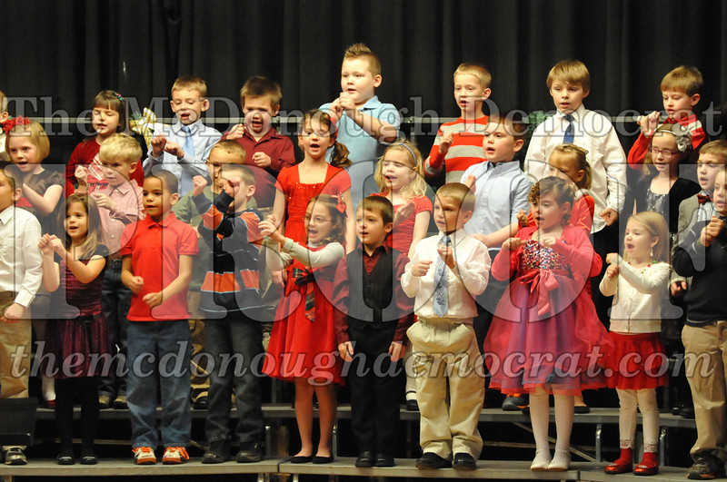 Elementary K-1 Christmas Choral Program 12-13-12 049