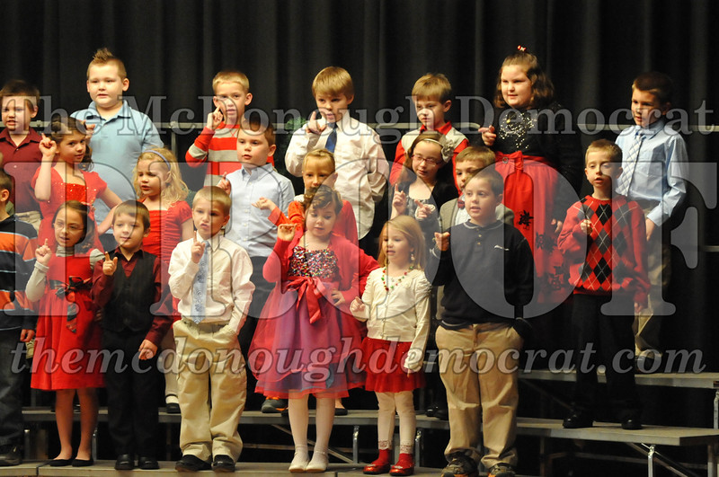 Elementary K-1 Christmas Choral Program 12-13-12 045