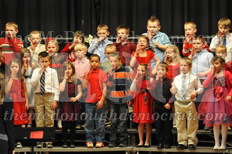Elementary K-1 Christmas Choral Program 12-13-12 046