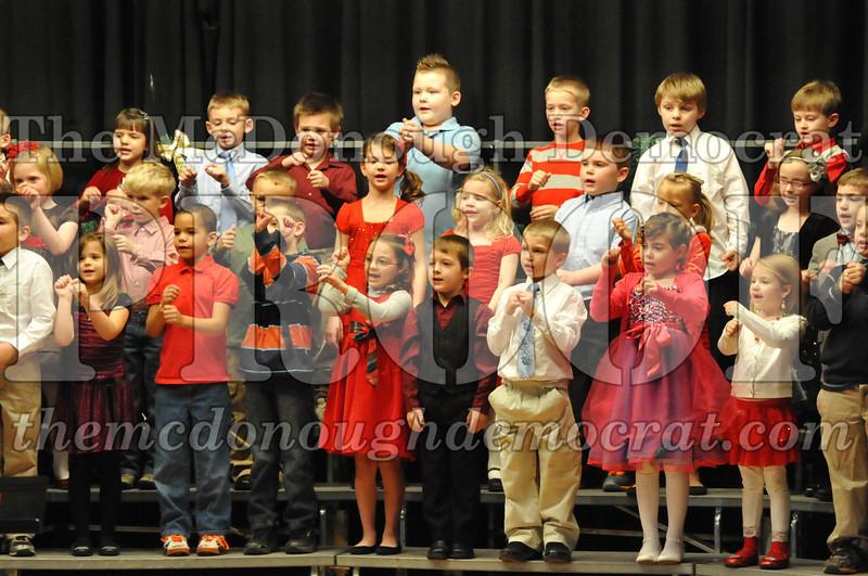 Elementary K-1 Christmas Choral Program 12-13-12 050