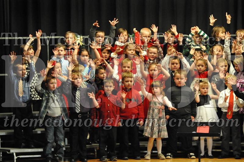 Elementary K-1 Christmas Choral Program 12-13-12 027