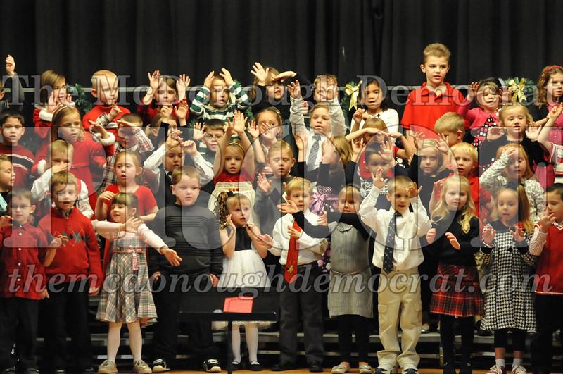 Elementary K-1 Christmas Choral Program 12-13-12 028