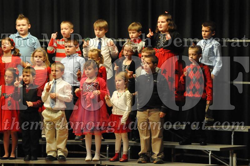 Elementary K-1 Christmas Choral Program 12-13-12 053