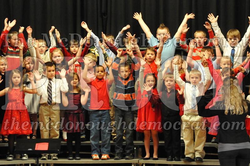 Elementary K-1 Christmas Choral Program 12-13-12 040