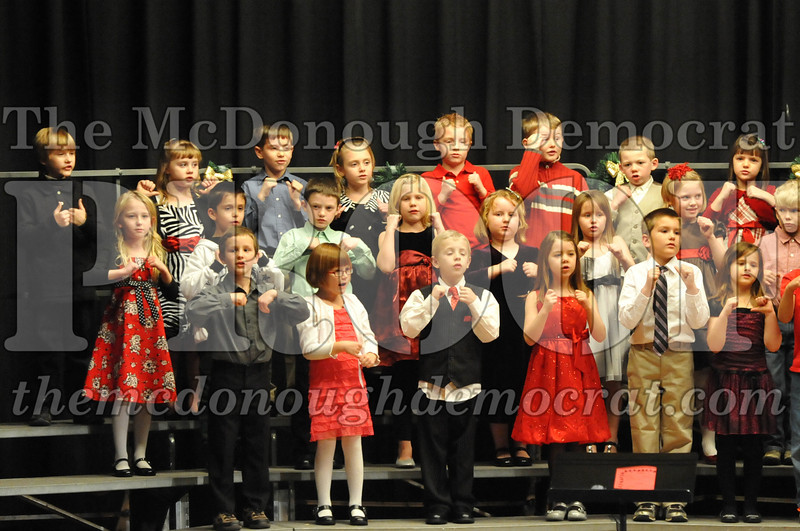 Elementary K-1 Christmas Choral Program 12-13-12 041