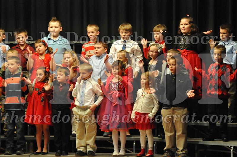 Elementary K-1 Christmas Choral Program 12-13-12 052