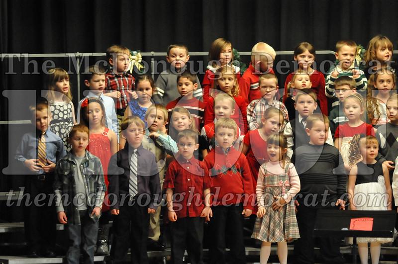 Elementary K-1 Christmas Choral Program 12-13-12 018