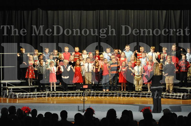 Elementary K-1 Christmas Choral Program 12-13-12 042