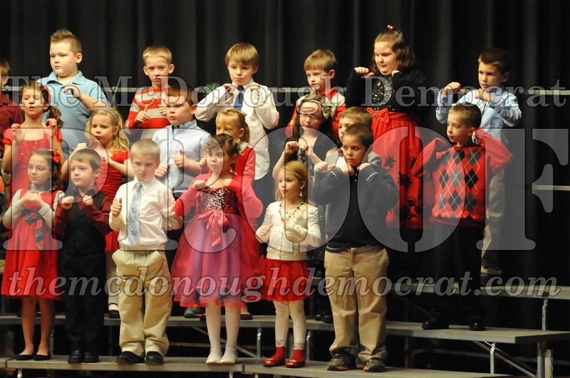 Elementary K-1 Christmas Choral Program 12-13-12 051