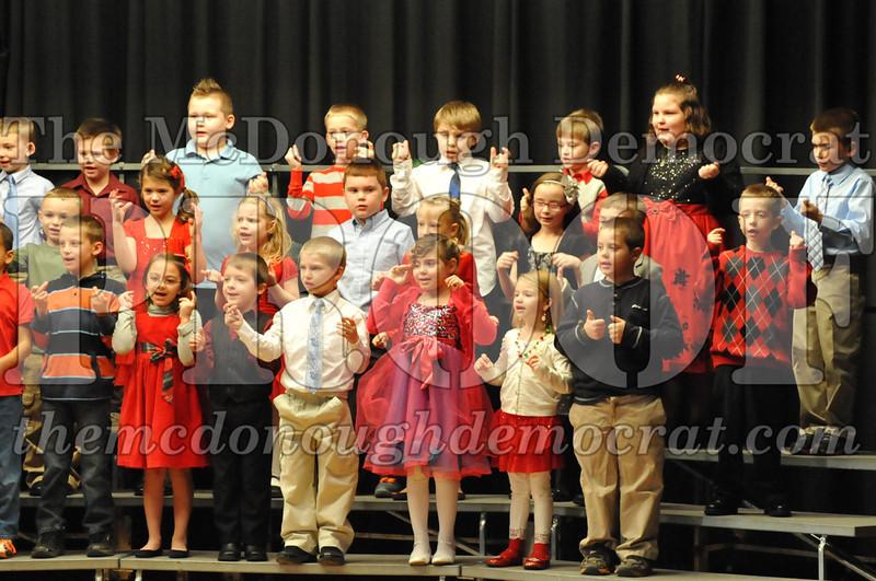 Elementary K-1 Christmas Choral Program 12-13-12 038
