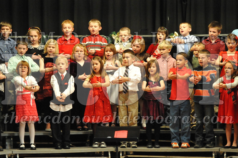 Elementary K-1 Christmas Choral Program 12-13-12 048